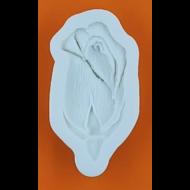 Szilikon forma rózsa bimbó