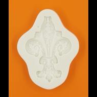 Szilikon forma gótikus virágminta