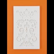 Szilikon forma barokk minták
