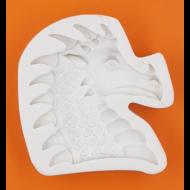 Szilikon forma sárkány fej