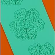 Cukorcsipke sablon virágok