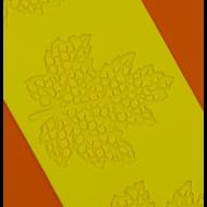 Cukorcsipke sablon juharlevél