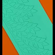 Cukorcsipke sablon babérlevél
