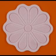 Cukorcsipke sablon virág