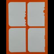 Habkártya szett 4db