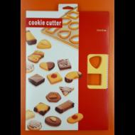 Linzer keksz kiszúró lap