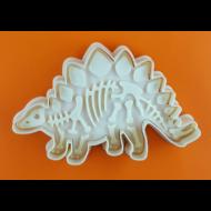 Dínó stegosaurus kiszúró szett