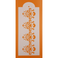 Stencil csík ornamentika