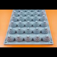 Málna 30 darabos szilikon mousse sütőforma
