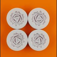 Szilikon forma 4 darabos rózsa