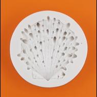 Szilikon forma tengeri kagyló