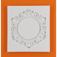 Szilikon forma ornamentika kerek