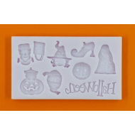 Szilikon forma halloween