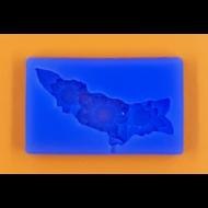 Szilikon forma virágfüzér