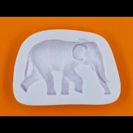 Szilikon forma elefánt