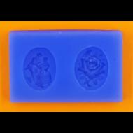 Szilikon forma antik medál 2
