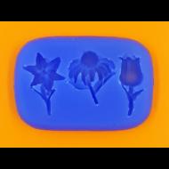 Szilikon forma virágszálak