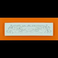 Szilikon forma barokk minta 5