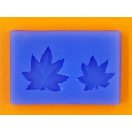 Szilikon forma juhar levél