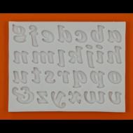 Szilikon forma írott betűk