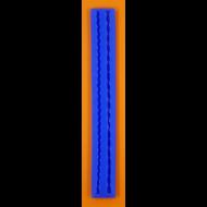 Szilikon forma csavart zsinórok