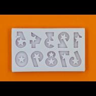 Szilikon forma számok