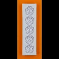Szilikon forma 5 rózsa