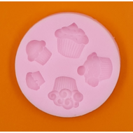 Szilikon forma muffinok