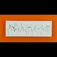Szilikon forma fű