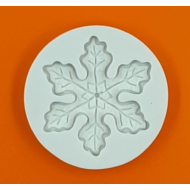 Szilikon forma hópehely 2