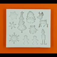 Szilikon forma karácsony