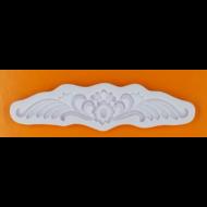 Szilikon forma barokk minta 8