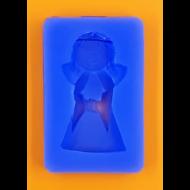 Szilikon forma angyalka