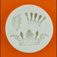 Szilikon forma koronák