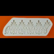 Szilikon forma barokk minta