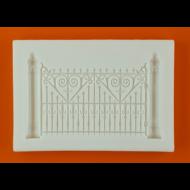 Szilikon forma kerítés