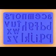 Szilikon forma betűk