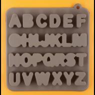 Szilikon csoki öntő forma ABC 27 darabos