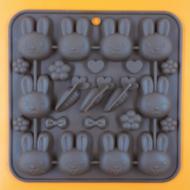 Szilikon csoki öntő forma húsvét 24 darabos