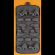Szilikon csoki öntő forma húsvét 14 darabos
