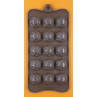 Szilikon csoki öntő forma smile 15 darabos