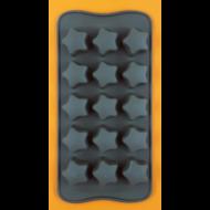 Szilikon csoki öntő forma csillagok 15 darabos