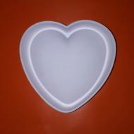 Szív nagy szilikon mousse sütőforma