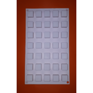 Micro square 35 darabos szilikon mousse sütőforma
