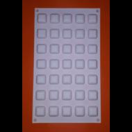 Micro gem 35 darabos szilikon mousse sütőforma