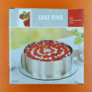 Állítható kerek magas tortaforma