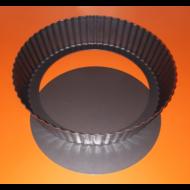 Pite forma fekete mély 24cm