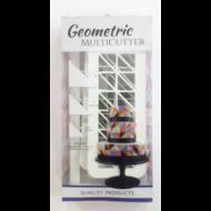 Kiszúró szett geometric döntött háromszög