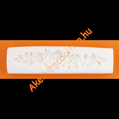 Szilikon forma rózsa füzér