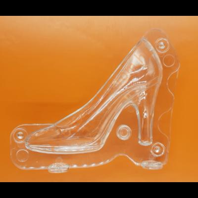 3D női cipő nagy polikarbonát csoki öntőforma
